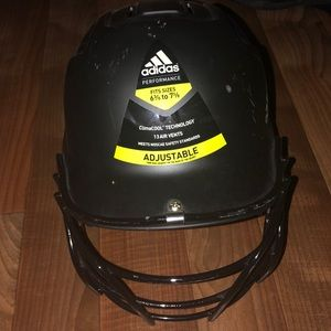 Adidas Softball helmet